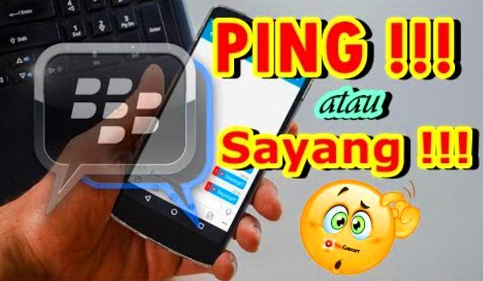 """Cara Mengubah Tulisan """"Ping!"""" di BBM Tanpa Root"""