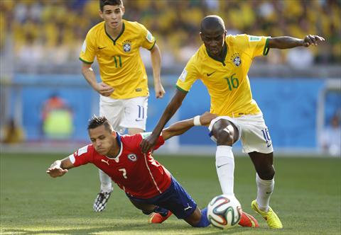 تعرف على موعد مباراة تشيلي ضد البرازيل والقنوات الناقلة لها