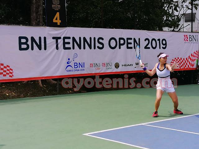 Hasil Pertandingan Tennis Open di Jakarta, Selasa 19 November 2019