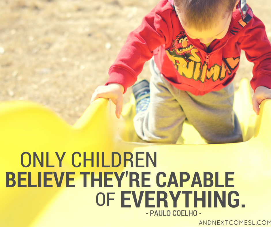 8 inspiring quotes about children and the importance of play from And Next Comes L