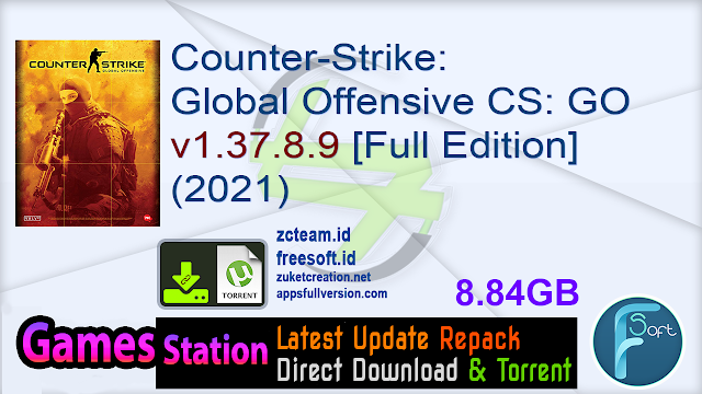 Counter-Strike Global Offensive CS GO v1.37.8.9 [Full Edition] (2021)