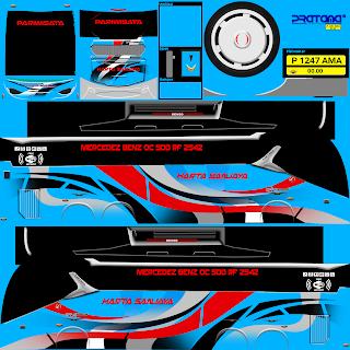 Google Drive  Download Livery Bus Harta Sanjaya