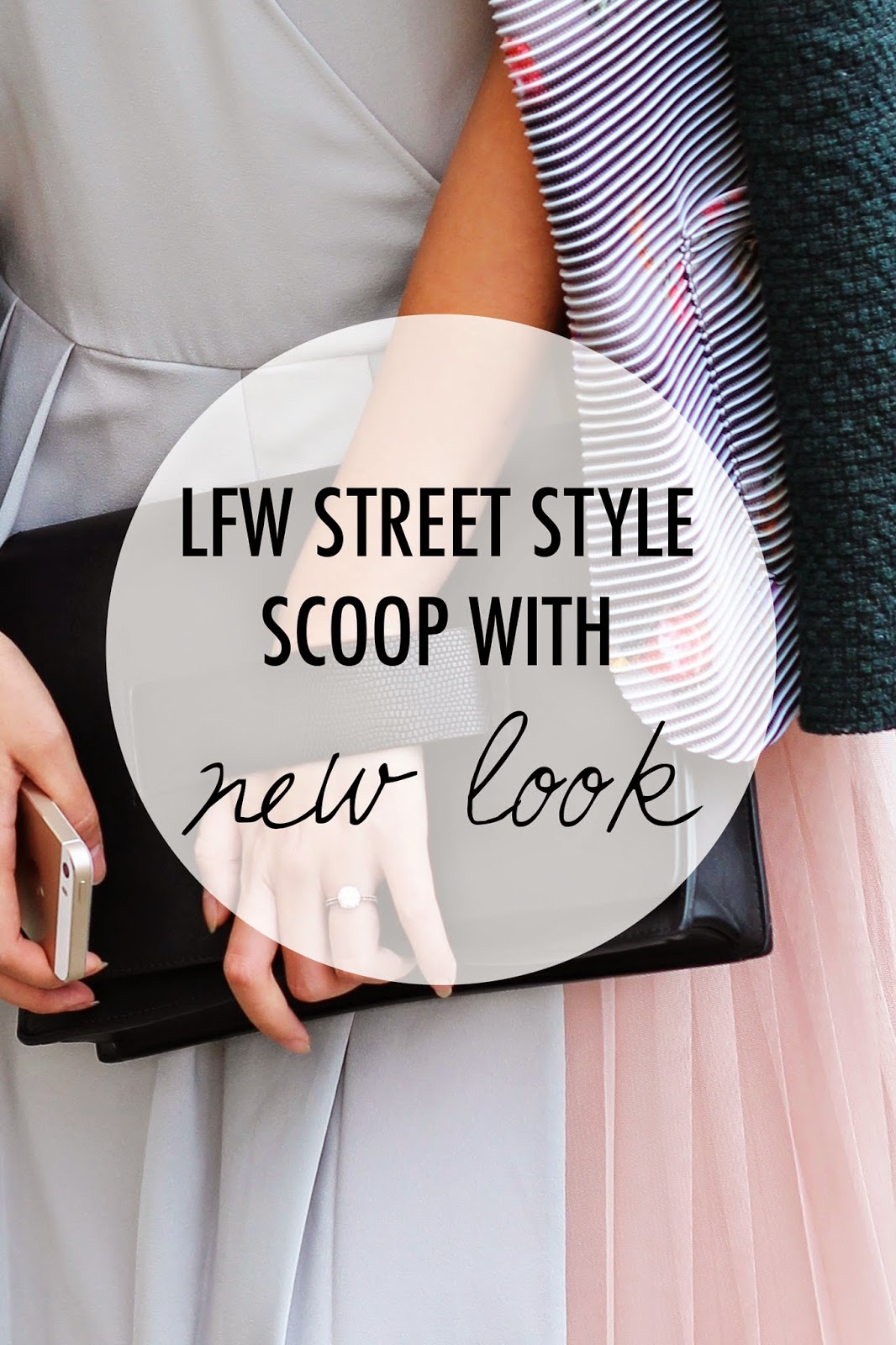 Getting The Street Style Scoop With New Look | LFW