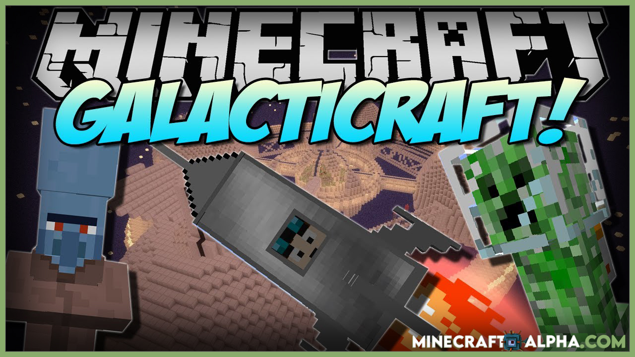 Galacticraft Mod For Minecraft New Version 1.17 To 1.11.2