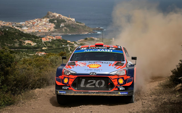 Dani Sordo Wins  in Hyundai i20 World Rally Car