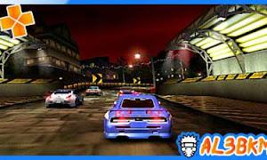 تحميل لعبة Need for Speed Underground Rivals psp iso مضغوطة لمحاكي ppsspp