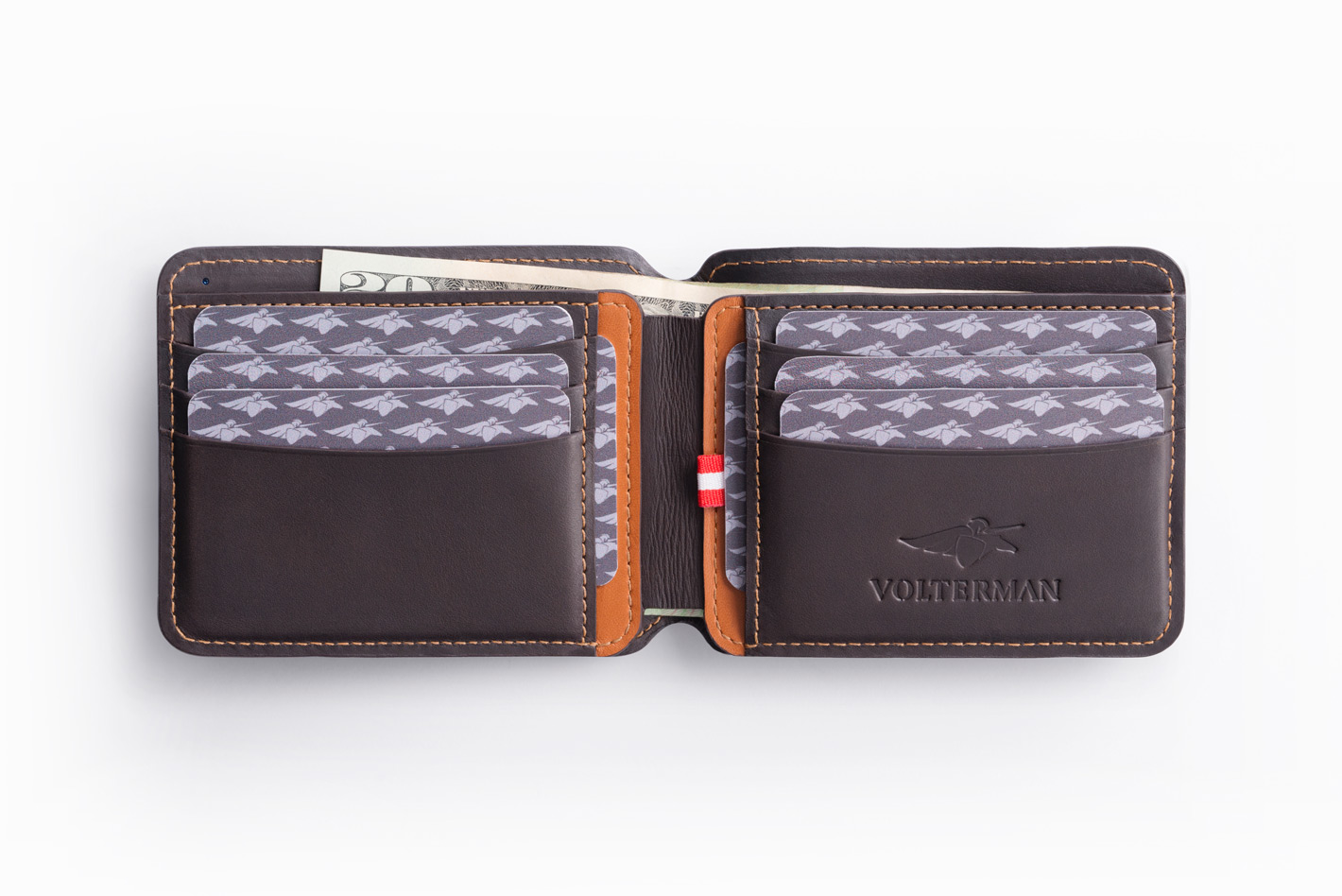 Volterman Smart Wallet On Packaging Of The World