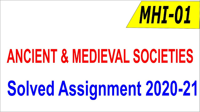 MHI 01 Solved Assignment 2020-21