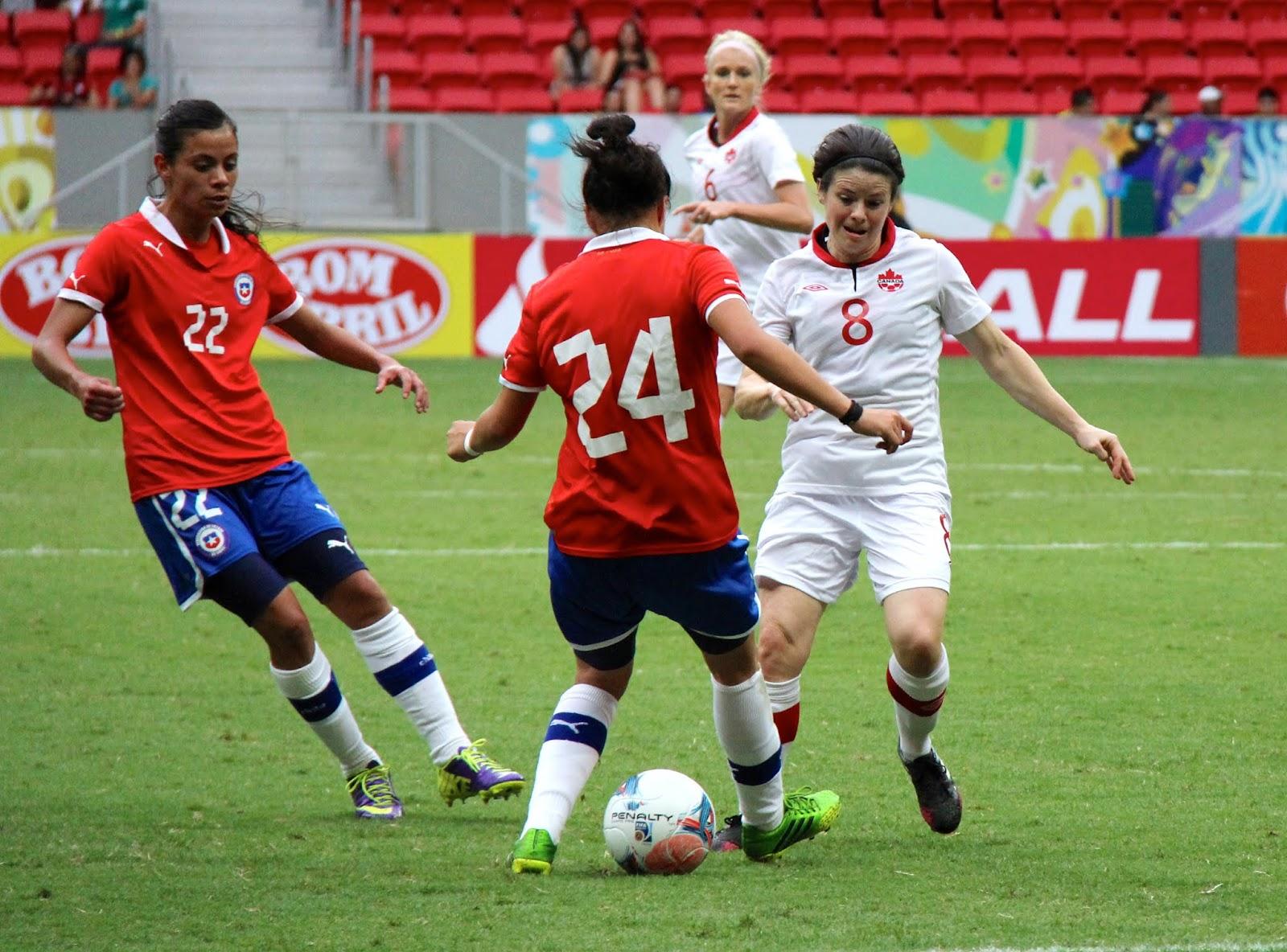 Chile y Canadá en Torneio Internacional de Brasília 2013, 15 de diciembre