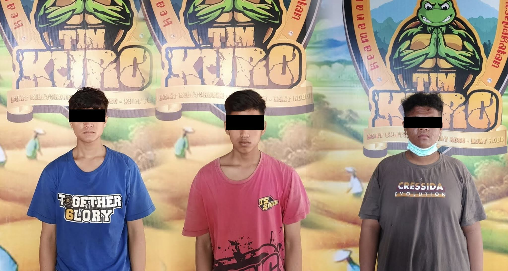 Diduga Mau Pesta Sabu, 3 Remaja Ditangkap