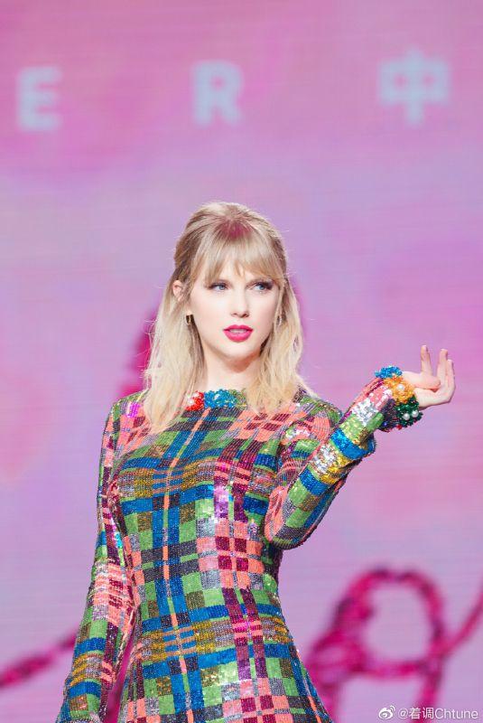 Taylor Swift Snaps at Lover Fan Meeting (Fan M&G) in Guangzhou 11 Nov-2019