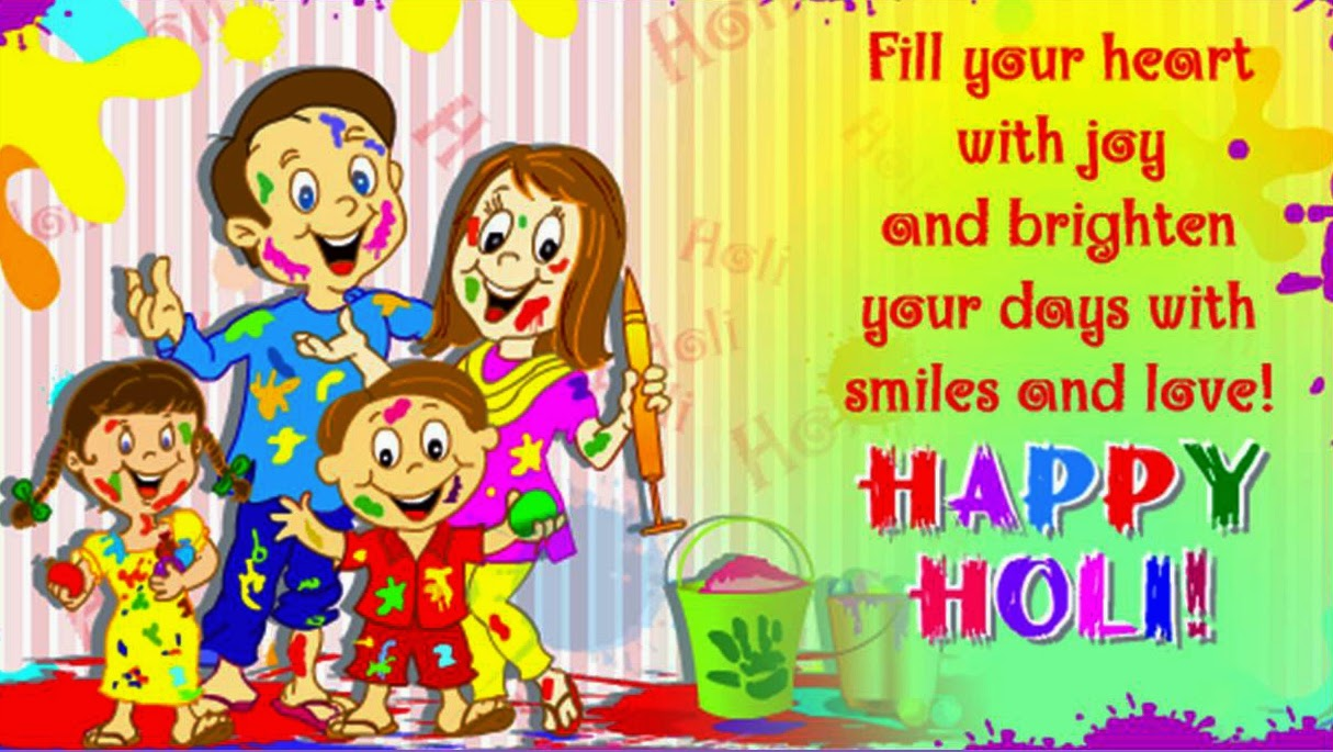 Happy Holi Images, Wallpaper, Quotes, Wishes, Status ...