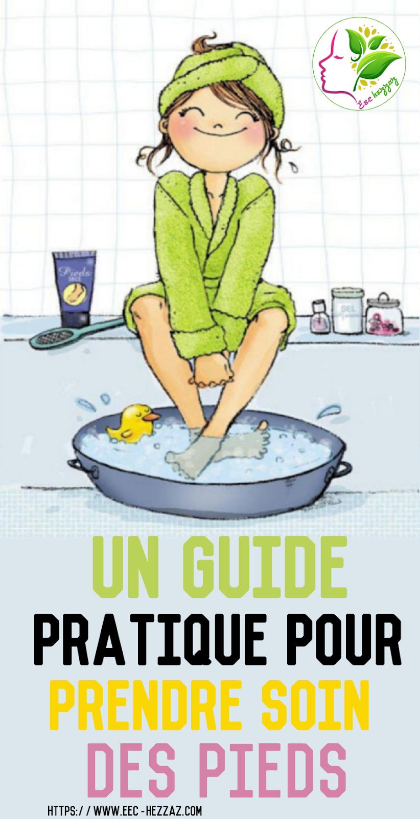 Un guide pratique pour prendre soin des pieds