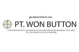 Lowongan Kerja Terbaru Bulan Oktober PT. Won Button 2018