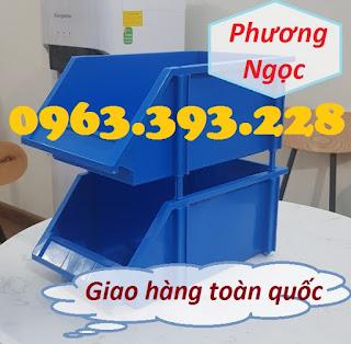 Kệ dụng cụ A8 đựng linh kiện, khay nhựa vát đầu A8, khay đựng ốc vít xếp chồng 3244a7b19b0f63513a1e