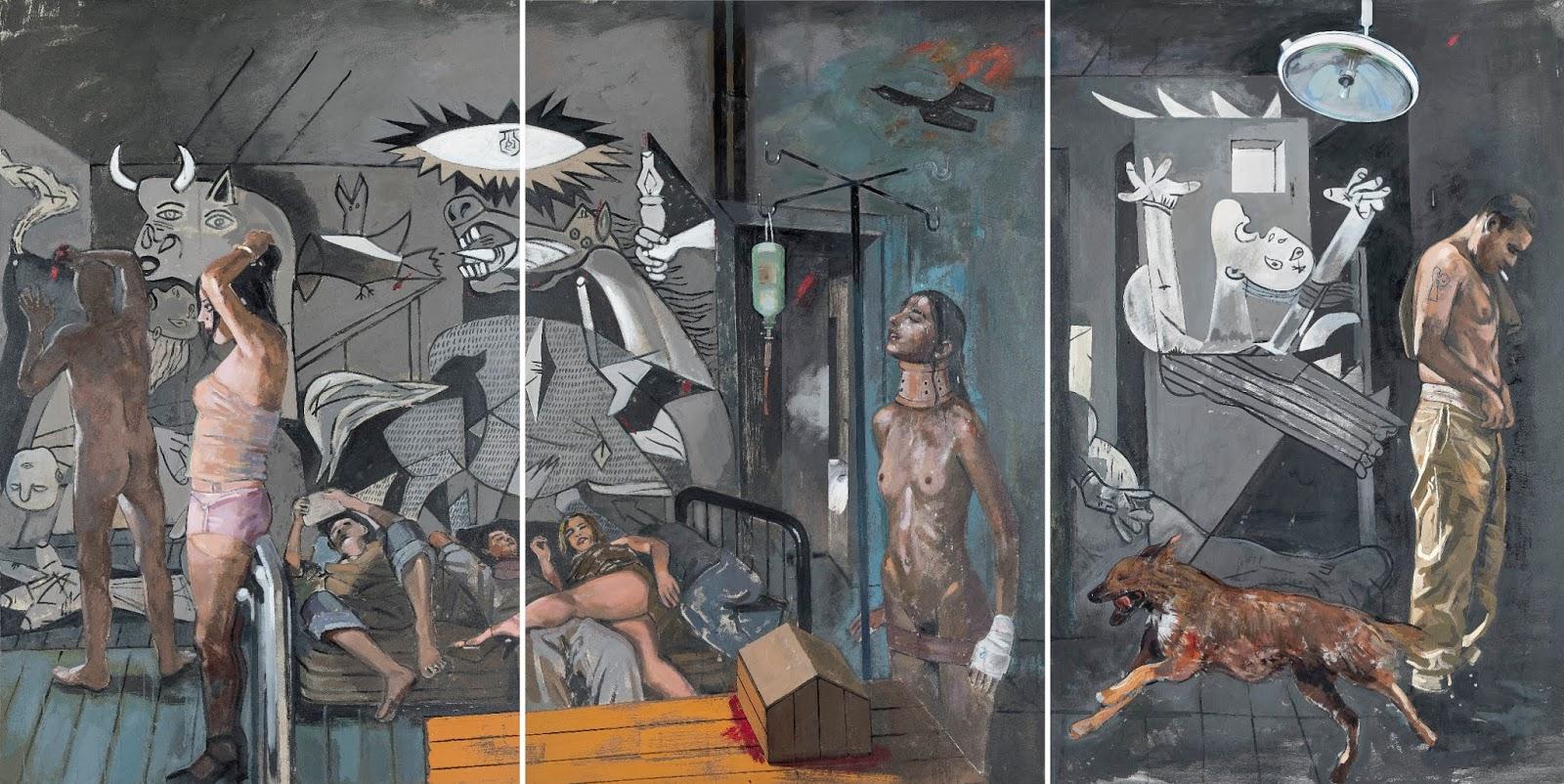 Εκδήλωση ανάρτησης του εμβληματικού έργου «Γκουέρνικα 1» στη Δημοτική Πινακοθήκη Λάρισας