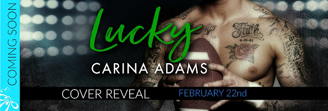 Cover Reveal:  Lucky – Carina Adams