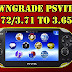 PS Vita / PS TV 3.71 & 3.72 Downgrader to 3.65 Firmware by SKGleba