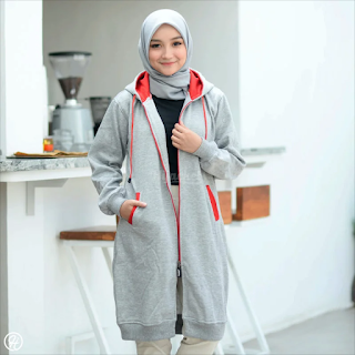 Hijacket Basic GREY X RED HJ-22