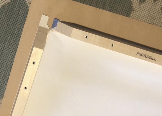 Photowall Canvas Frame Assembly