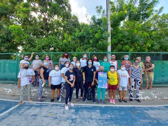 """Projeto """"Movimenta Parnaíba"""" promove ações de saúde e qualidade de vida na Ilha Grande de Santa Isabel"""