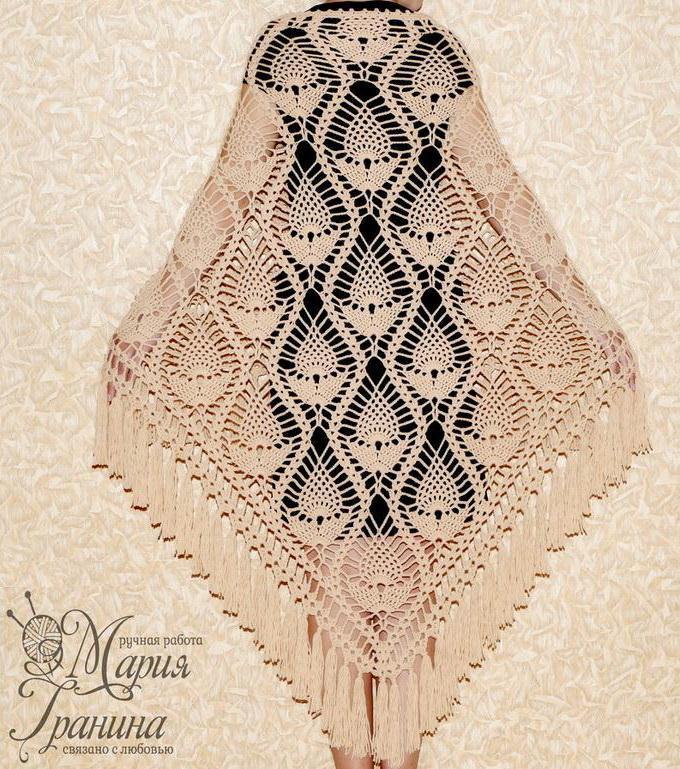 Pineapple Crochet Shawl - Amazing Pineapple Lace