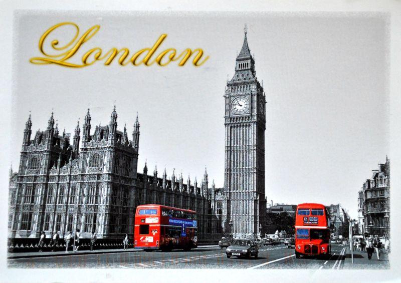 londyn pocztówka