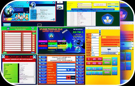 Download File Aplikasi Pembuat Administrasi Guru Otomatis Lengkap