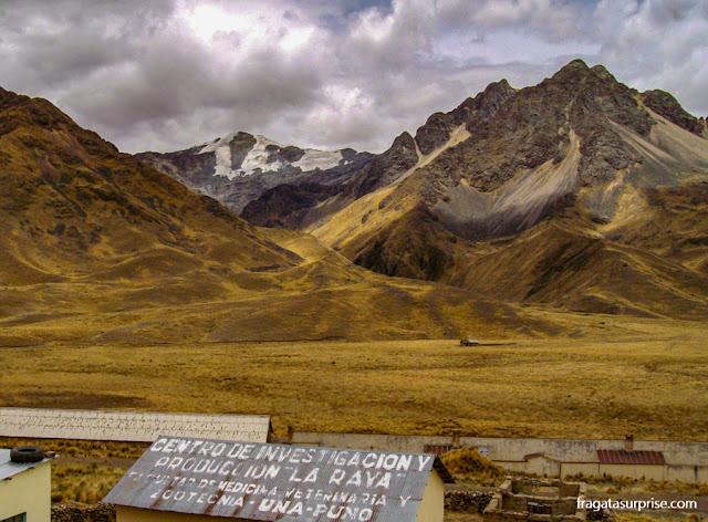 Mirante de La Raya, Andes, Peru