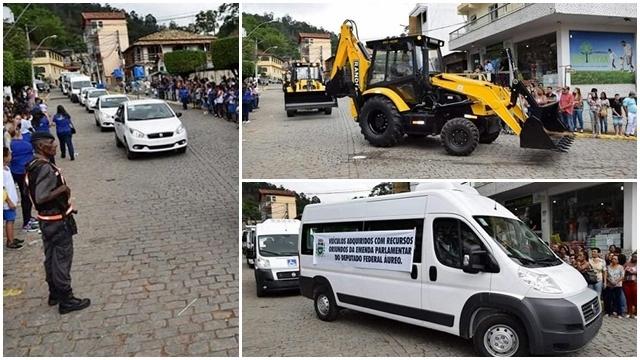 Prefeitura de São Sebastião do Alto compra uma frota de veículos