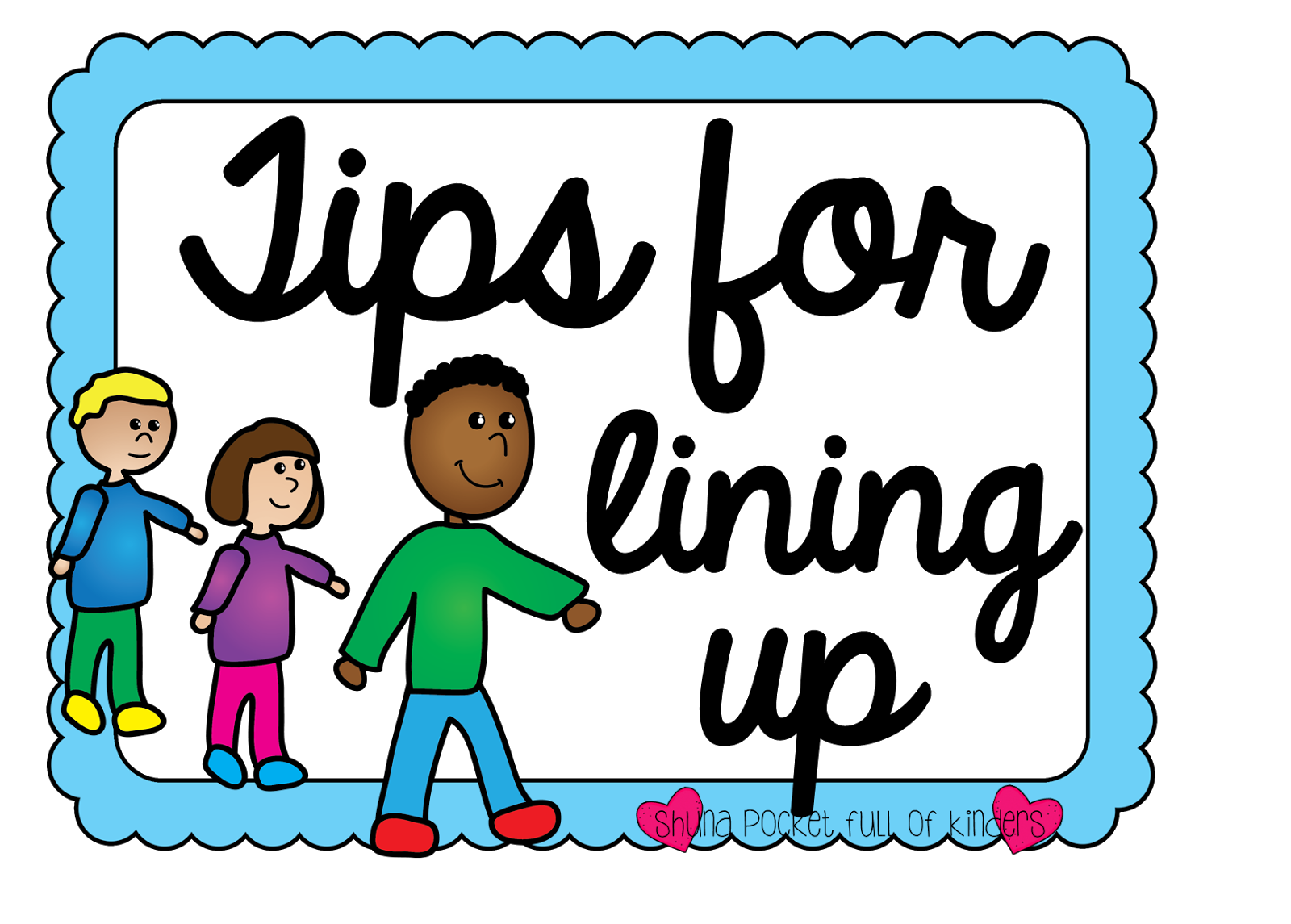 clipart line up - photo #10