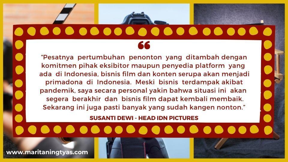 optimisme Fajar Nugros dan Susanti Dewi untuk IDN Pictures