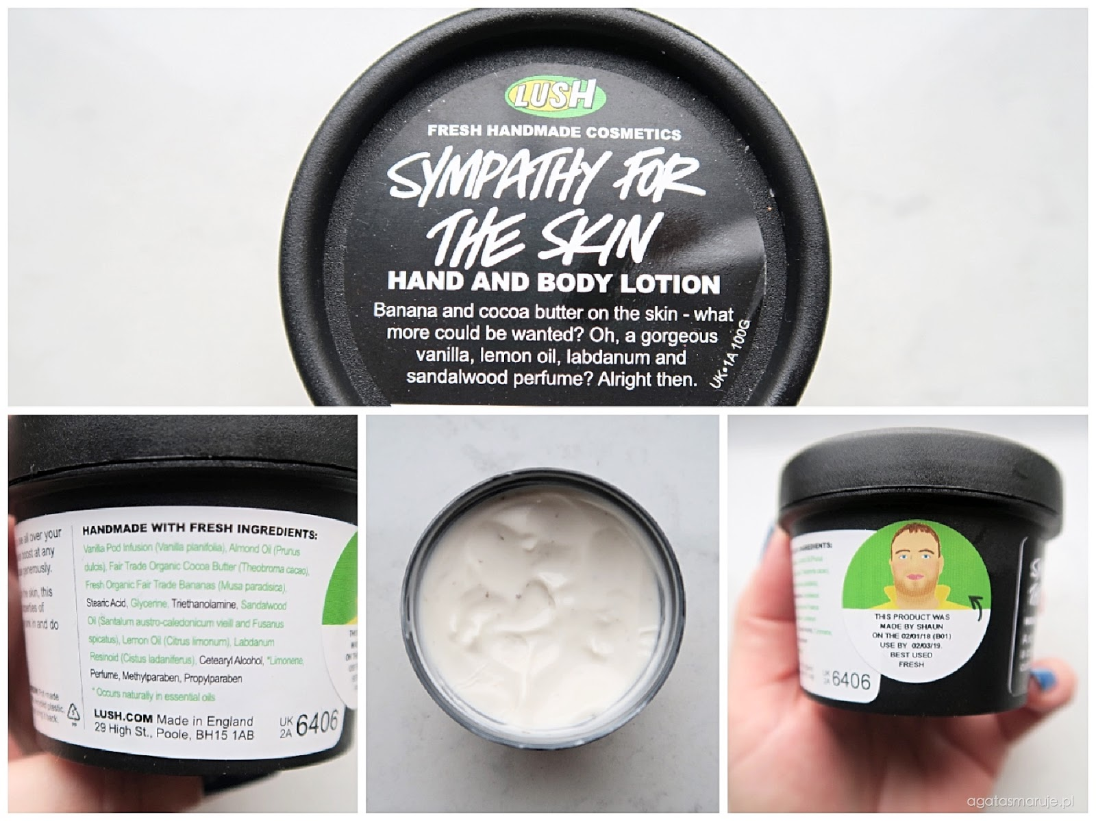 Lush Sympathy For The Skin review