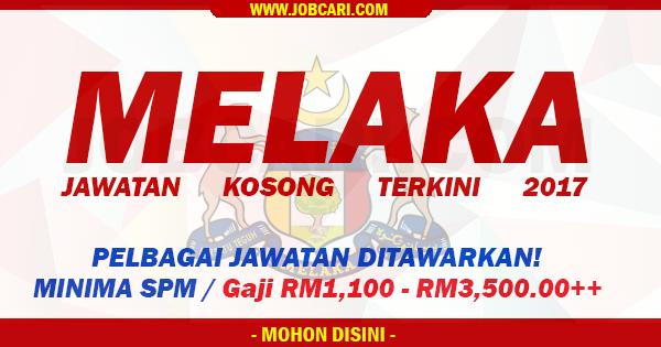 Jawatan di Melaka