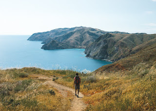 Catalina Island Trail and backpacker