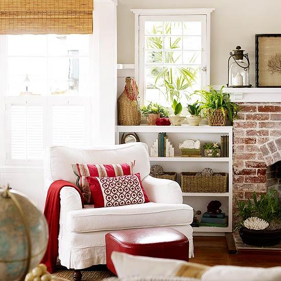 New Home Designer Decoration: New Home Interior Design: Beachside Cottage Decorating