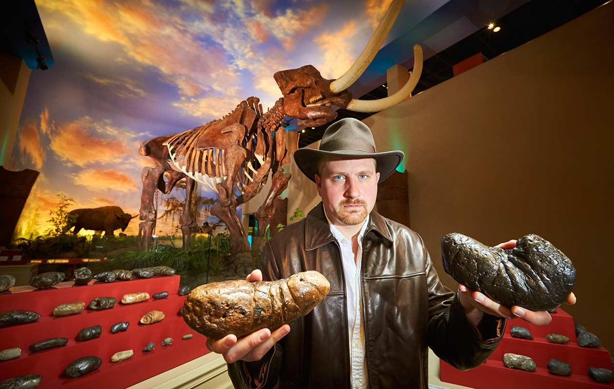 George Frandsen dinosaure