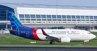 Sriwijaya Air plane