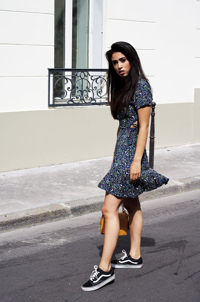 Elizabeth l Laced up back outfit blog mode l Boohoo Asos Vans l THEDEETSONE l http://thedeetsone.blogspot.fr