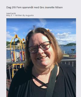 Intervju med Gro Jeanette Nilsen