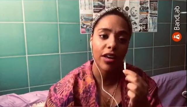 ganadora%2Bautor.%2Balessia - Fuerteventura.-  Alessia Sciacca y María Cambeiro  ganadoras del 'Concurso de Covers y Música de Autor Online' de Juventud de La Oliva