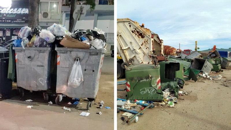 Αλεξανδρούπολη: Σκουπίδια στους δρόμους, εγκαταλελειμμένα πάρκα, φίδια στο αμαξοστάσιο, σαβούρα στο Δημαρχείο
