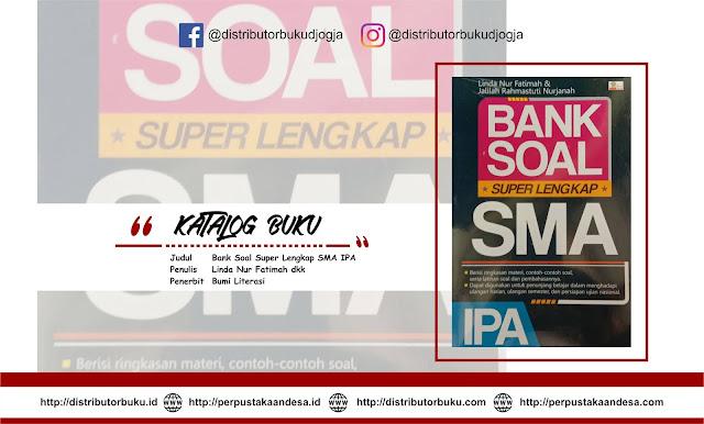 Bank Soal Super Lengkap SMA IPA
