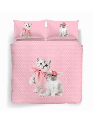 Pink de Caleffi Studio Pets by Myrna. Conjunto Funda nórdica