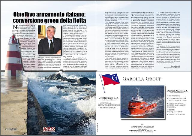 DICEMBRE 2020 PAG. 10 - Obiettivo armamento italiano: conversione green della flotta