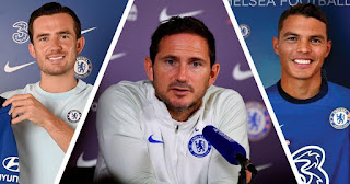 Frank Lampard speaks on chelsea signings of Ben Chilwell and Thiago Silva