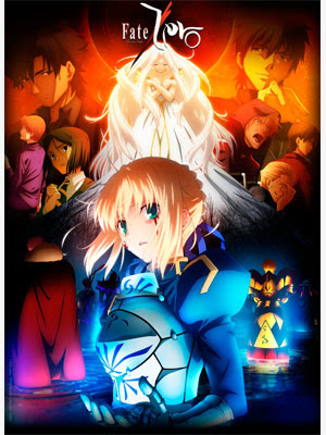 Fate/Zero 2 12/12 (HD + Ligero) [Sub Español] [Sin Censura] [MEGA-USERSCLOUD]