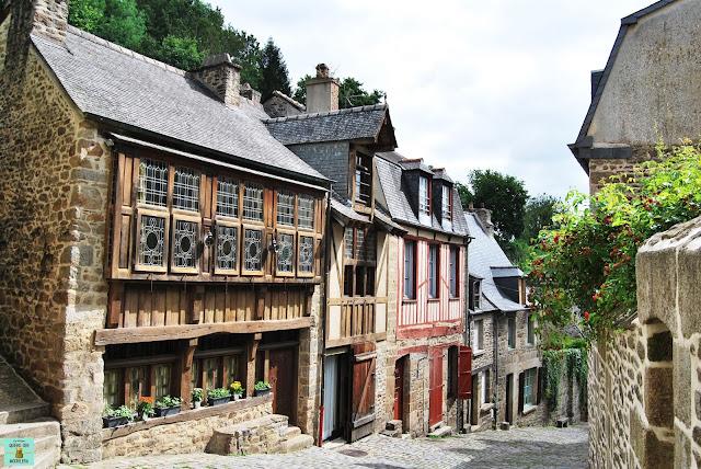 Dinan en la Bretaña Francesa