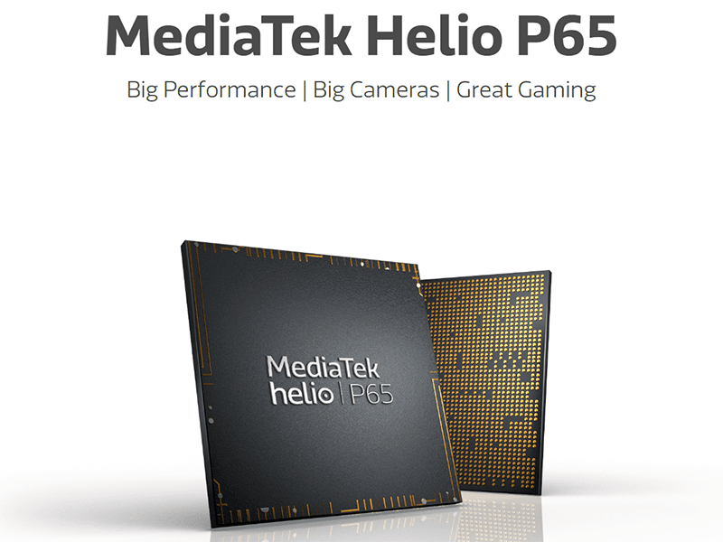 MediaTek announces Helio P65 with 48MP cam support and more!