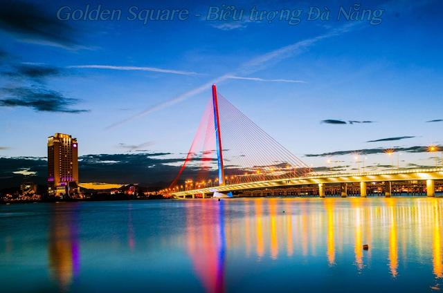 Golden Square biểu tượng của Đà Nẵng